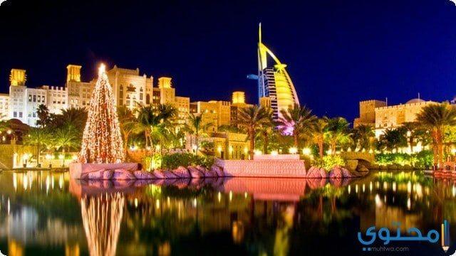 احتفالات دبي في رأس السنة