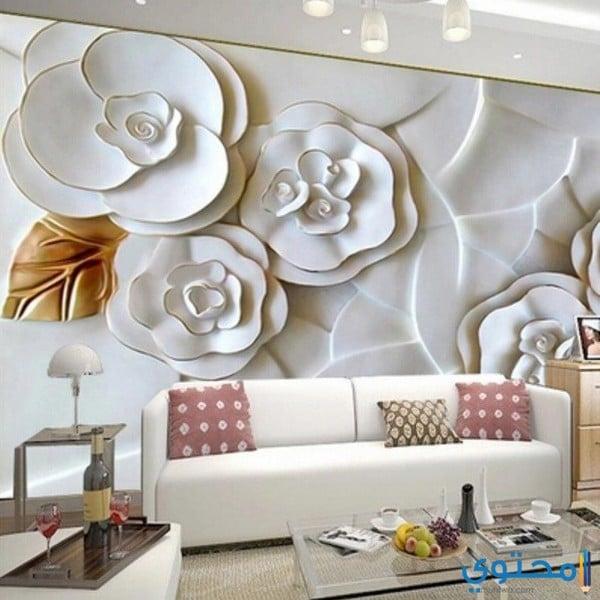 أشكال ورق حائط ثلاثي الأبعاد