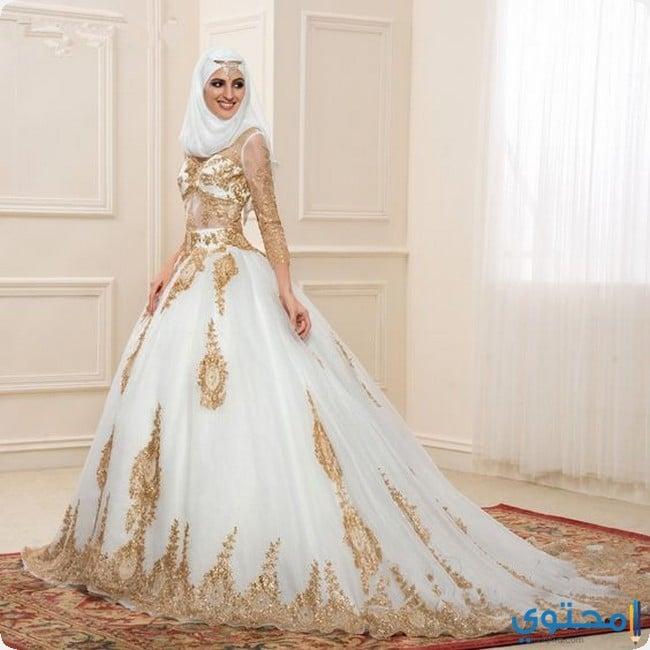 فساتين زفاف للمحجبات 2021