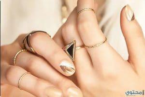 الخاتم المناسب لي على حسب شكل يدي