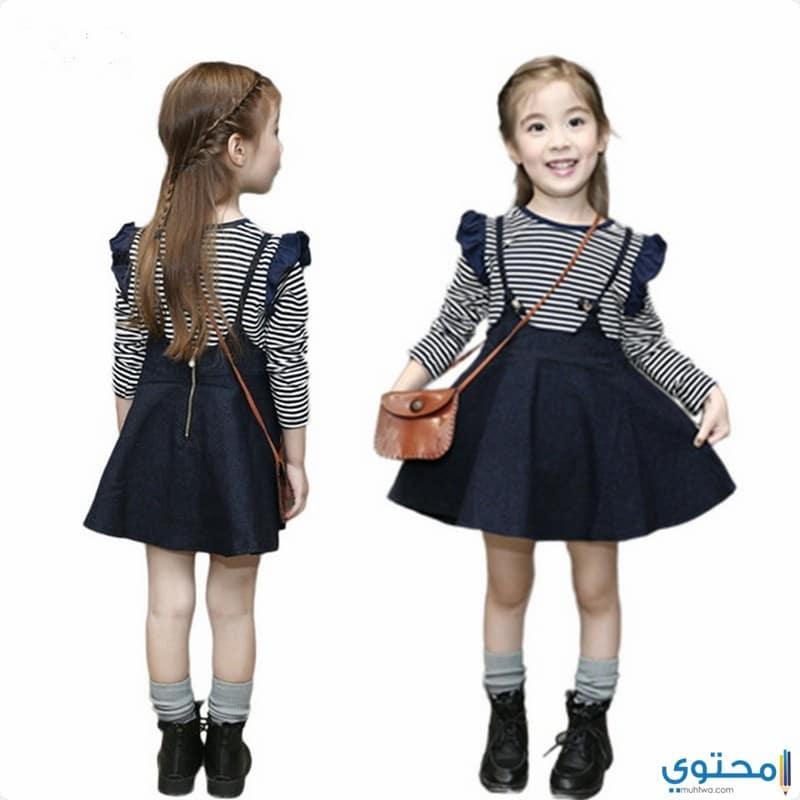 bb090c10dc7e2 ملابس بنات في الخريف حديثة 2019 - موقع محتوى