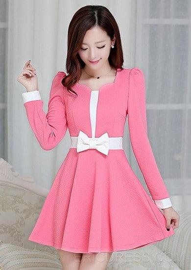 88076b9b3 أزياء وفساتين كورية أنيقه 2019 - موقع محتوى