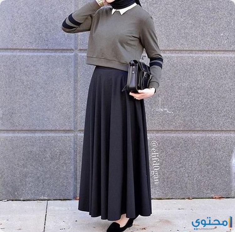 2d5068fbf571f أزياء محجبات كاجوال 2019 1440 - موقع محتوى