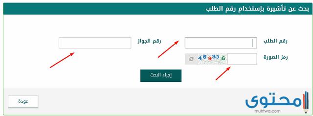 التأشيرة الإلكترونية