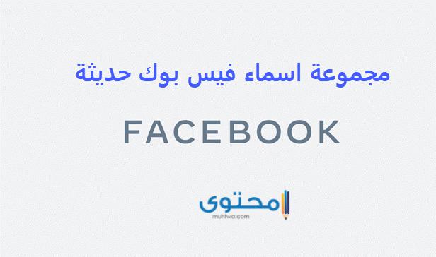 اسماء فيس بوك شباب وبنات مزخرفة 2021 موقع محتوى
