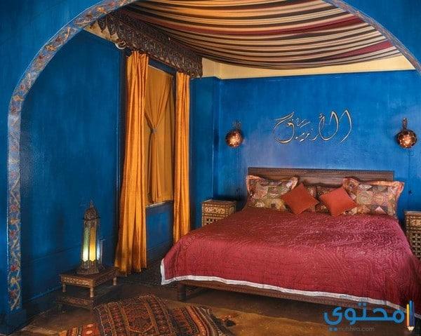 ديكورات مغربية لغرفة النوم