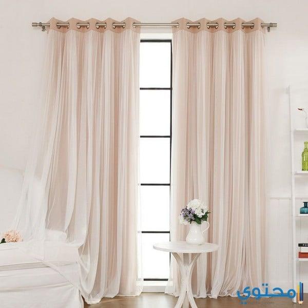 Curtain Ideas For Bedroom Windows Wallpaper For Teenage Bedroom Boy Michael Jordan Bedroom Decor Lilac Black And White Bedroom: أشكال ستائر غرف نوم حديثة