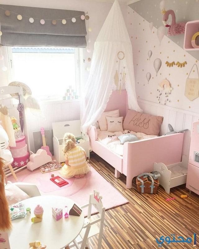 أشكال غرف نوم بنات ايكيا