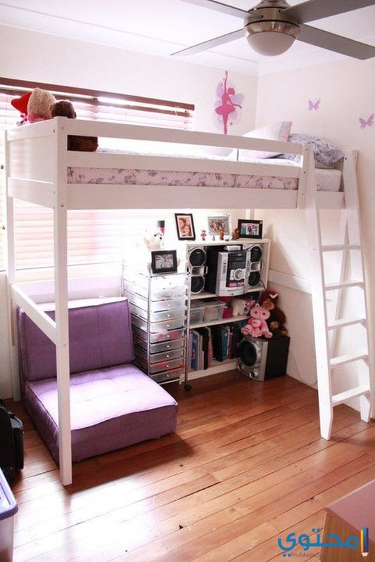 غرف نوم ايكيا للبنات من دورين