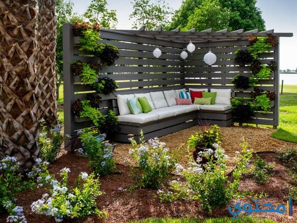 ديكورات حدائق منزلية داخلية