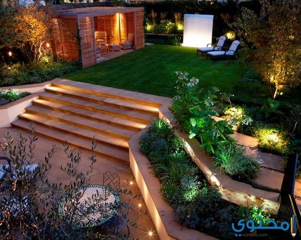 تصاميم حدائق منزلية بسيطة