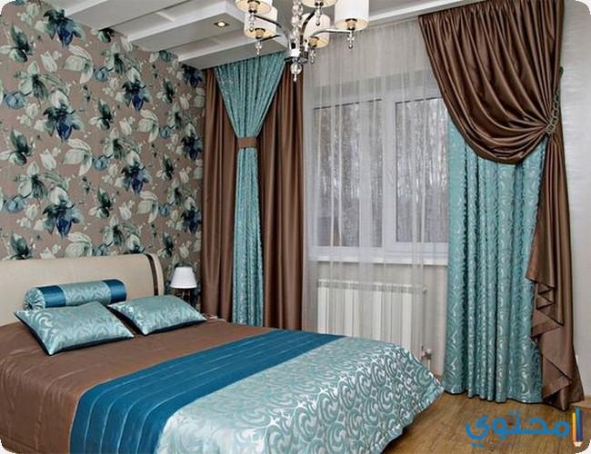 ستائر غرف نوم بسيطة