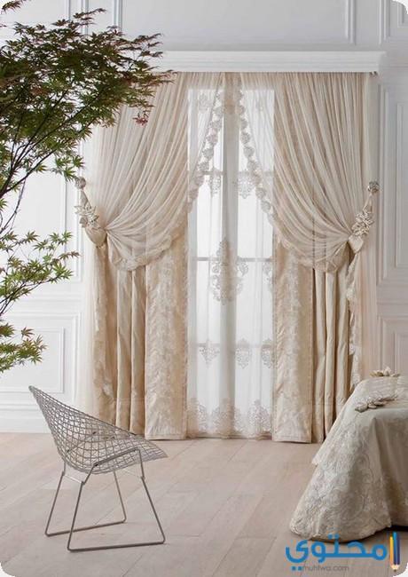 تصاميم ستائر غرف النوم Curtains Bedroom 2018 موقع محتوى