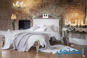 أشكال وتصاميم غرف نوم رومانسية