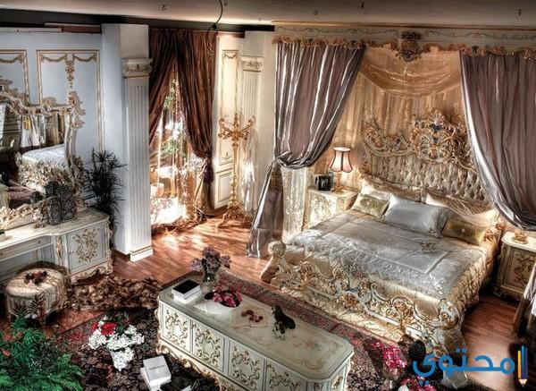 أشكال غرف نوم رومانسية بالصور