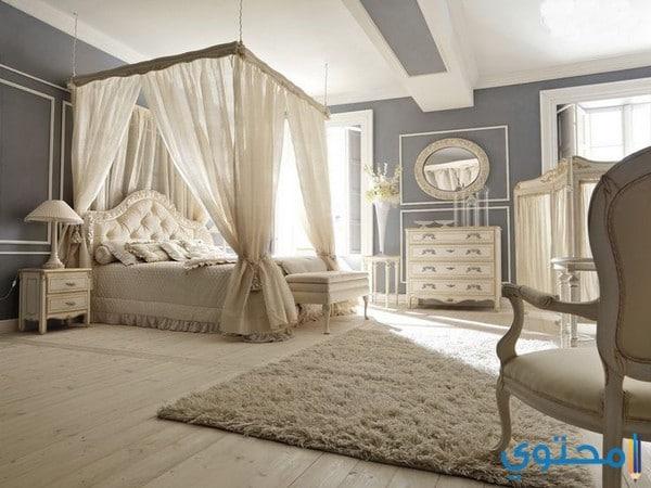 تصاميم غرف نوم رومانسية حديثة