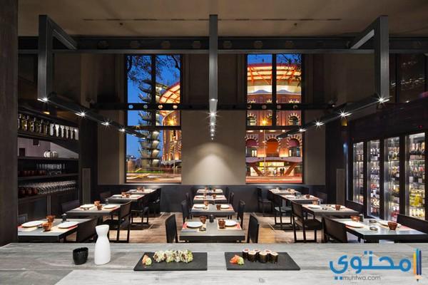 تصاميم مطاعم صغيرة