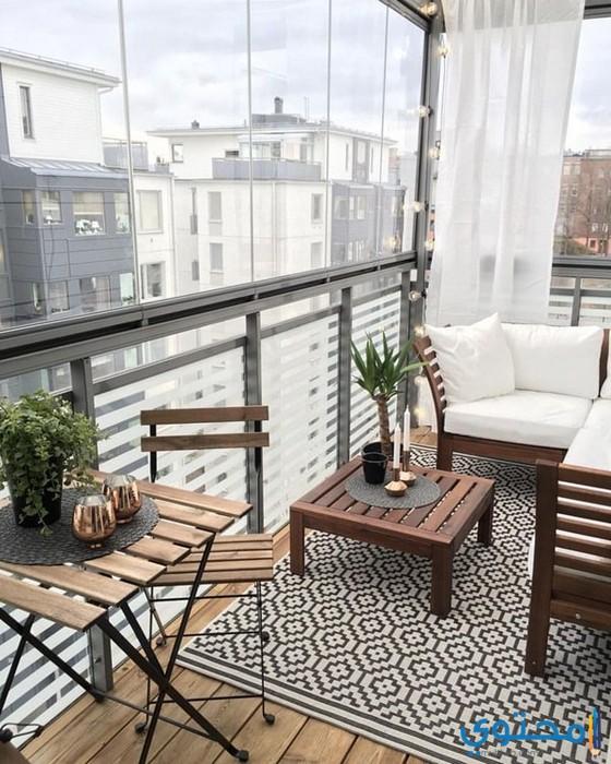 Second Home Decorating Ideas: أشكال وديكورات بلكونات 2019