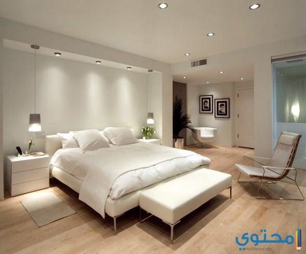 تصاميم غرف نوم مودرن بسيطة