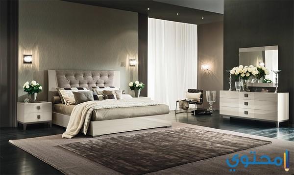 غرف نوم مودرن للعرسان