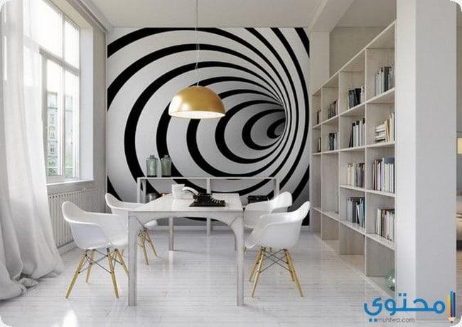 d3a3fa76c اشكال ورق الحائط ثلاثي الابعاد 2019 - موقع محتوى
