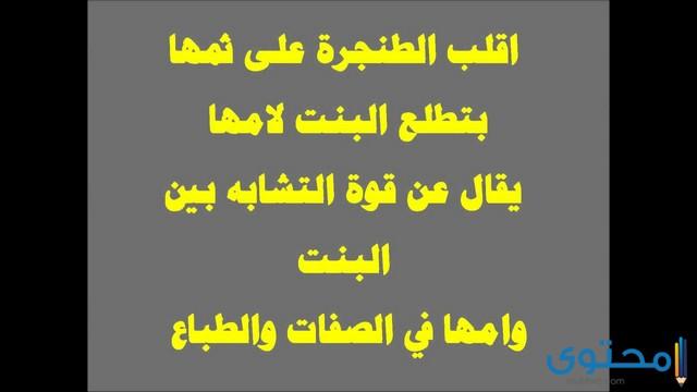 أمثال أردنية ومعناها
