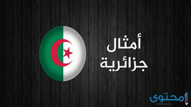 اشهر الامثال الجزائرية القديمة