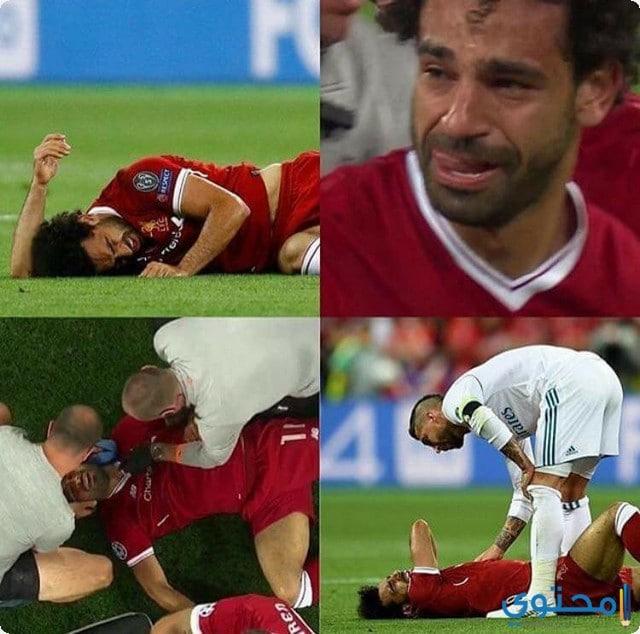 اصابة محمد صلاح