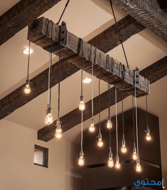 أحدث أشكال الإضاءة في السقف