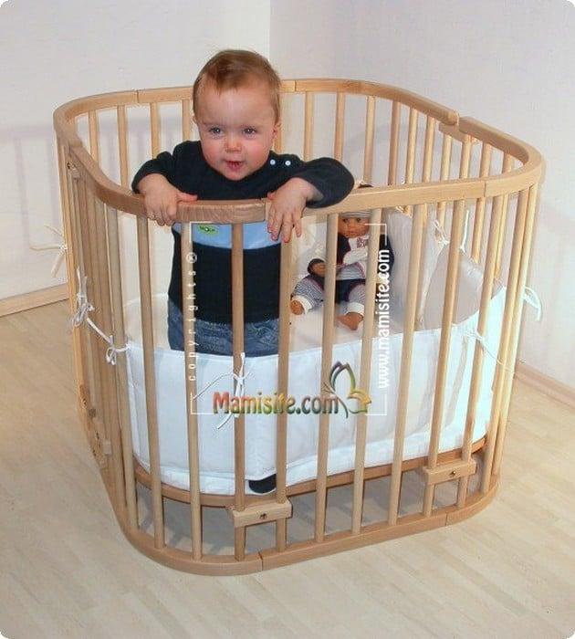 سرير طفلك الرضيع