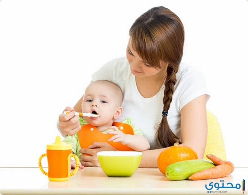 الرضع من عمر الولادة إلى سن ستة أشهر