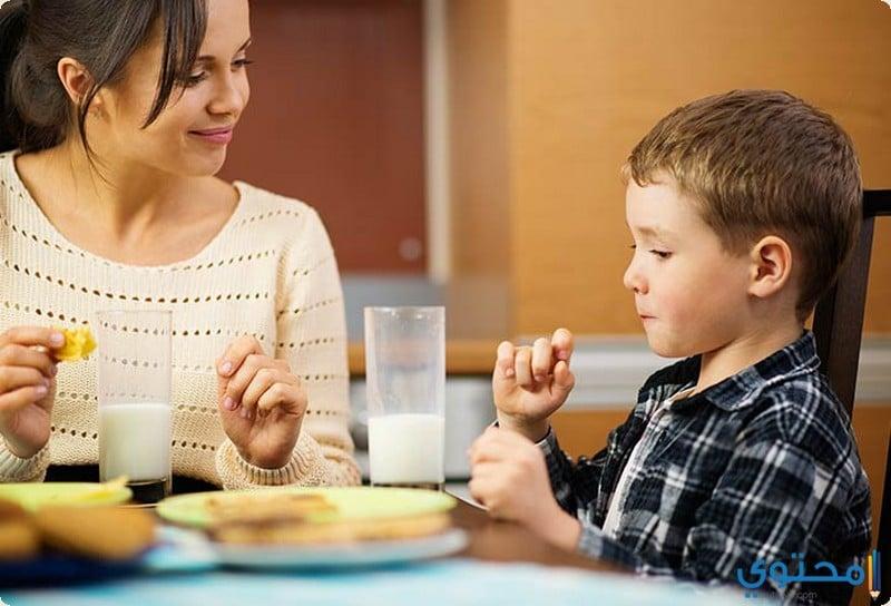 أهمية وجبة الإفطار للطفل