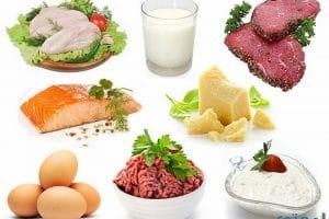 أغذية تحتوى على نسبة عالية من البروتين
