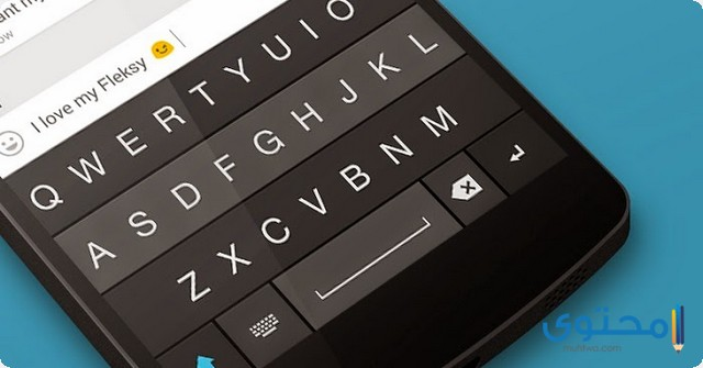 لوحة مفاتيح Fleksy