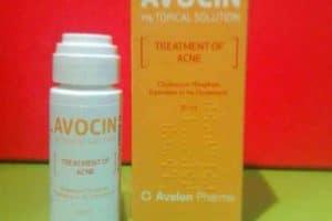 افوسين Avocin محلول لعلاج حب الشباب
