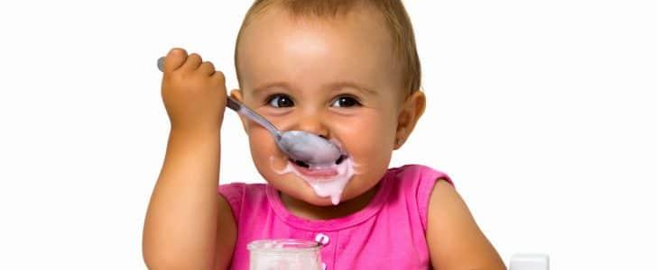 اكل الطفل في الشهر السابع