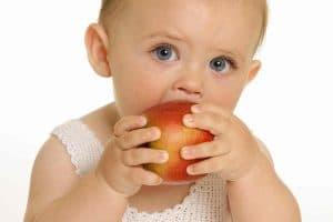 أكل الطفل في الشهر السادس