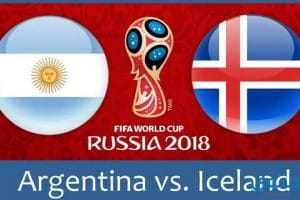 موعد مباراة الارجنتين وايسلندا في كاس العالم 2018