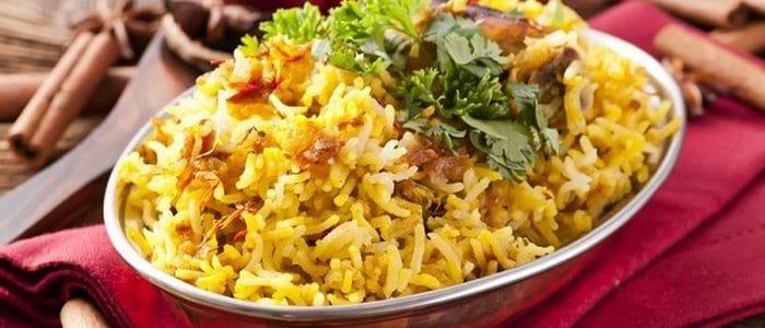طريقة تحضير الأرز البريانى