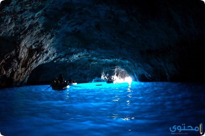 الكهف الازرق بمالطا