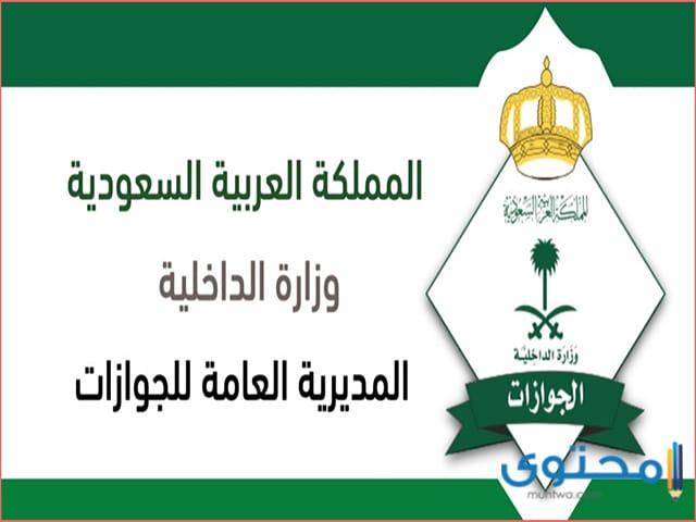 الاستعلام عن تأشيرة السعودية برقم الجواز فقط