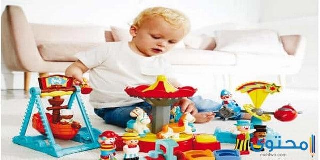 مهارات الطفل في عمر السنتين