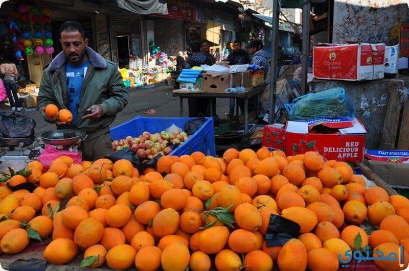 قصة بائع البرتقال