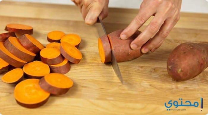 طريقة عمل البطاطا الحلوة باللبن موقع محتوى