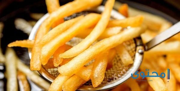 البطاطس المقلية في المنام