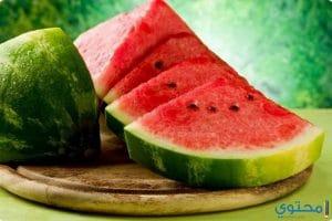 فوائد البطيخ للحامل والصحة