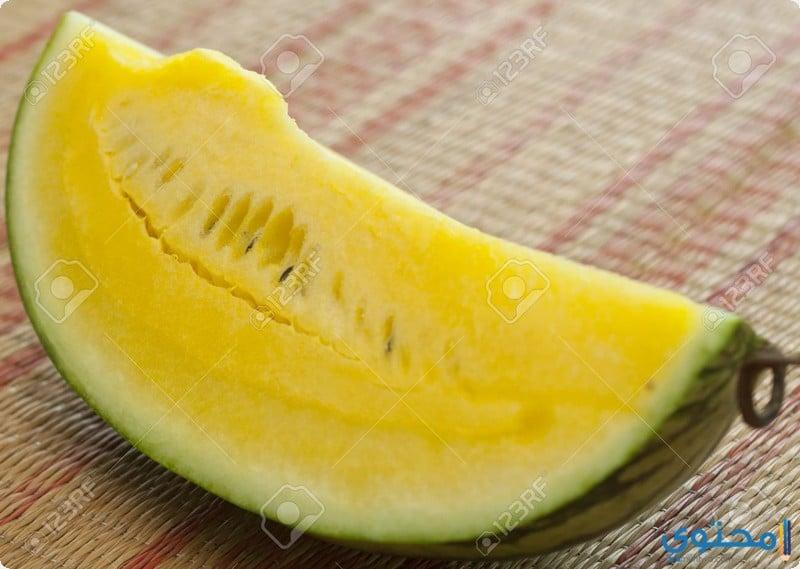 القيمة الغذائية للبطيخ الأصفر