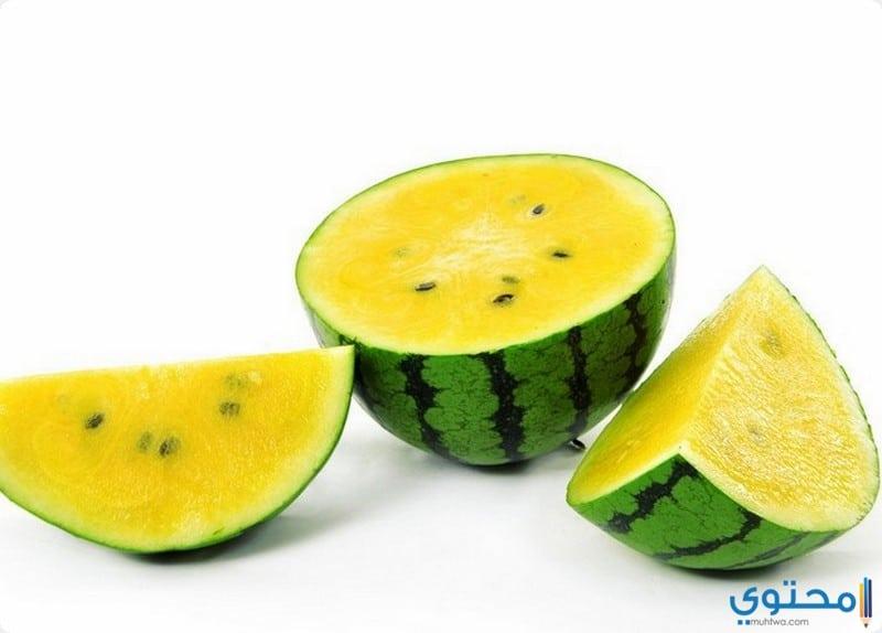 فوائد البطيخ الأصفر للصحة