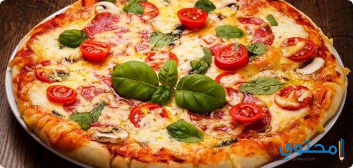 البيتزا بالفراخ