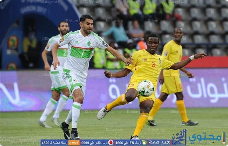 صور منتخب الجزائر 2021 محاربي الصحراء - موقع محتوى